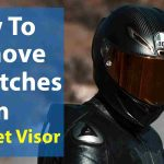 How to Remove Scratches from Helmet Visor (3 Easy Ways)